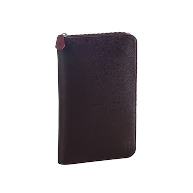 54TH ST. LARGE TRAVEL WALLET  Chocolate