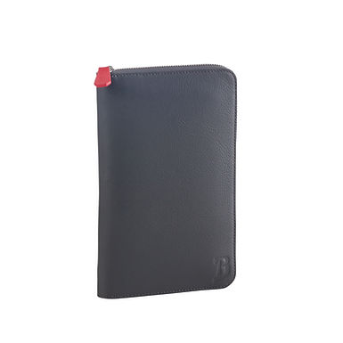 54TH ST. LARGE TRAVEL WALLET  Charcoal