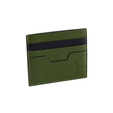 48TH ST. FLAT CARD HOLDER  Olive