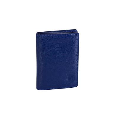 46TH ST. FOLDING CARD HOLDER  A.Blue