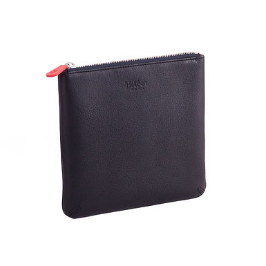 52ND ST. SIMPLE ZIP POCKET  Black