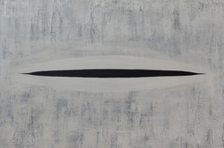 Ready to open 6, 2013, acrylic on canvas