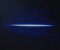 Ready to open 1, 2011, acrylic on canvas