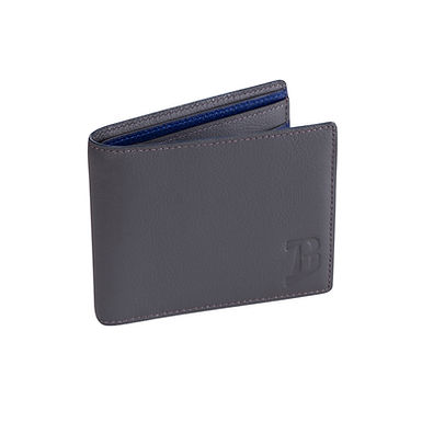 60TH ST. DOUBLE BILLFOLD  Charcoal