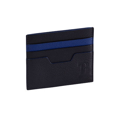 48TH ST. FLAT CARD HOLDER  Black