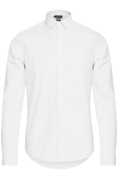 Chemise blanche extensible confortable