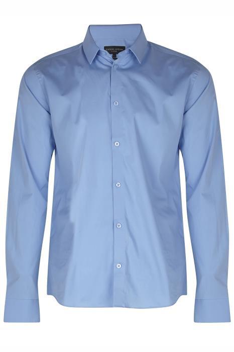 Chemise bleu chic