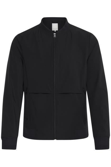 Bomber jacket noir chic