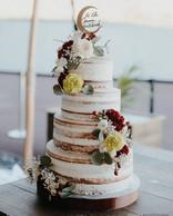 Naked cake _delicesdelyss _Cake toper _a
