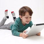 子どもと教材アプリ