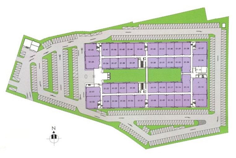 Mountbatten Square Site Map