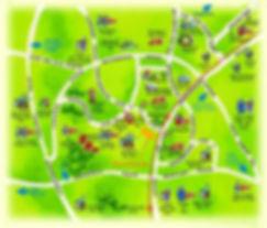 Sunglade Location Map