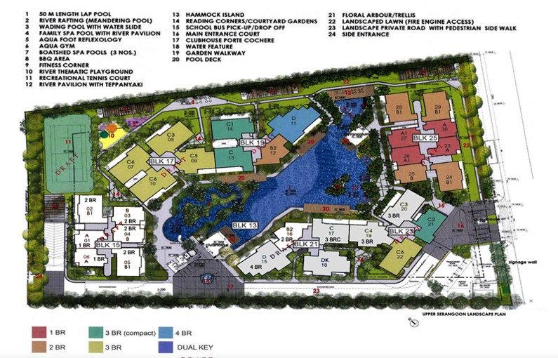Boathouse Residences Site Plan