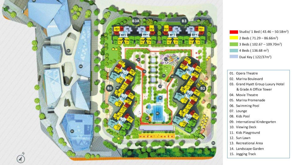 R&F Princess Cove Master Plan