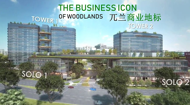 Woods Square The Business Icon of Woodlands 兀兰商业地标