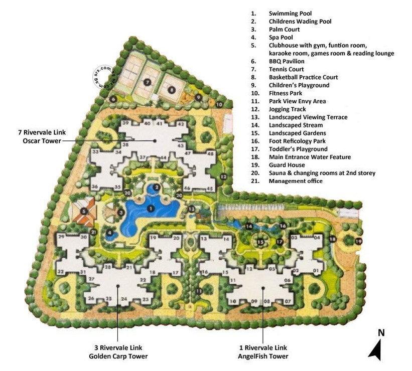 The Rivervale Site Plan