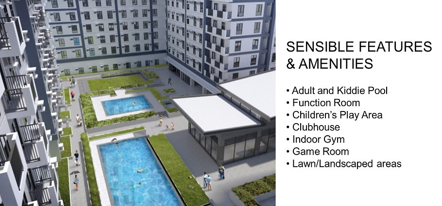 Avida Towers Vireo Amenities