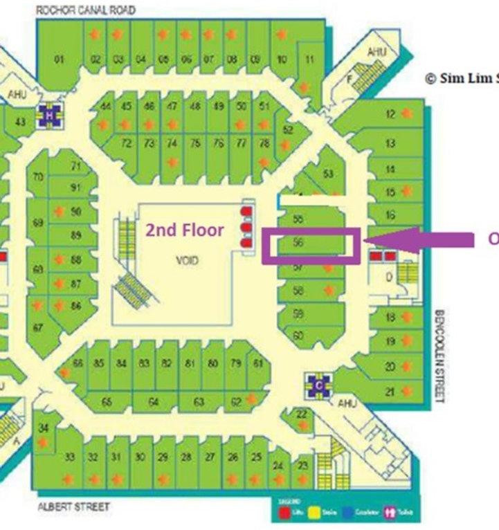 Sim Lim Square Floor Plan