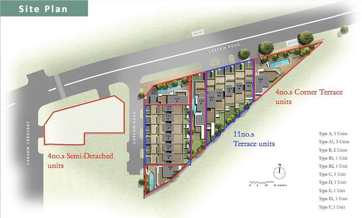 Cashew Green Site Plan