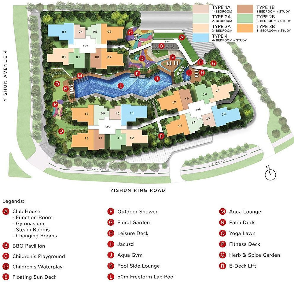 The Wisteria Site Plan