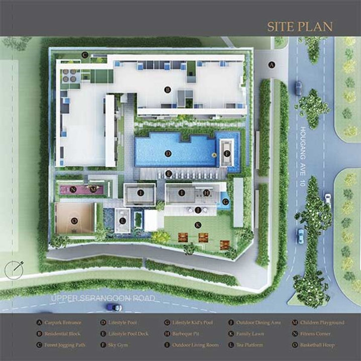 Midtown Residences & The Midtown Site Plan