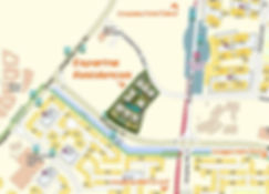 Esparina Residences Location Map