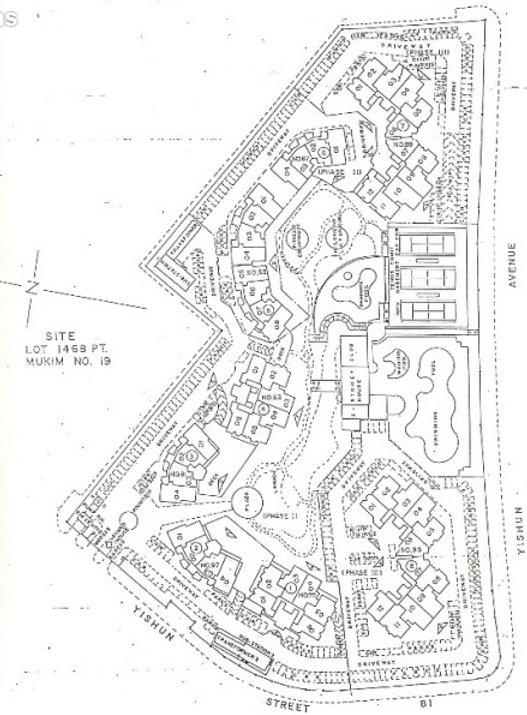 Orchid Park Condominium Site Plan