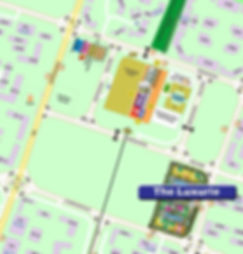 The Luxurie Location Map