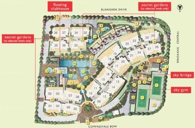 The Quartz Site Plan