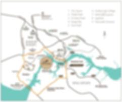 Country Garden @ Danga Bay Location Plan