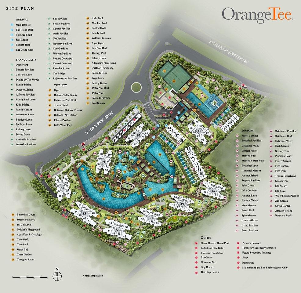 Normanton Park Site Plan