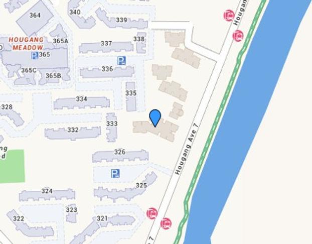 Evergreen Park Location Map