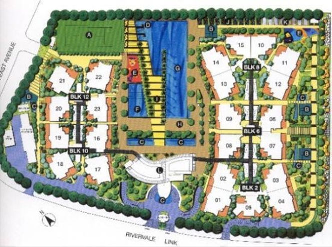 Park Green Site Plan
