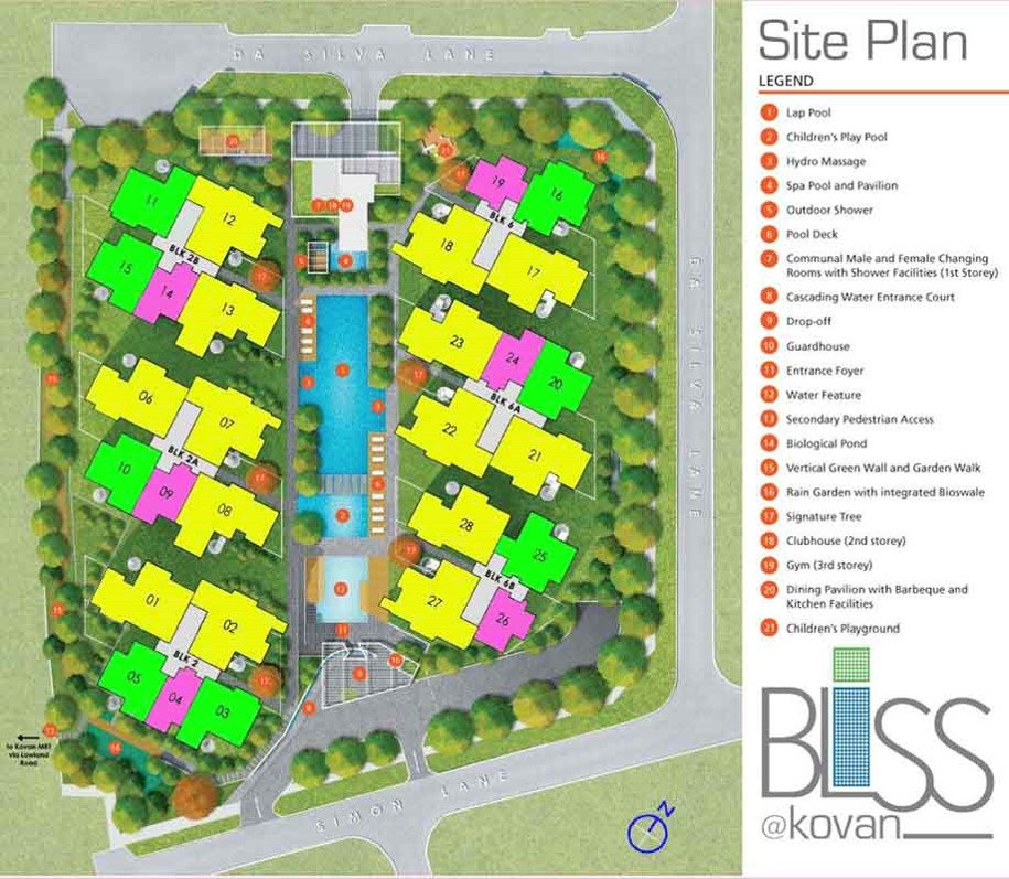 Bliss_Kovan Site Plan