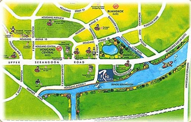 Rio Vista Location Map