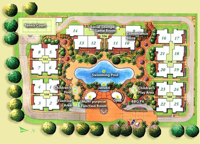 Lilydale Site Plan