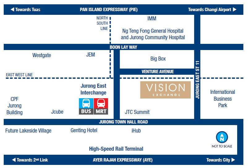 Vision Exchange Location Map
