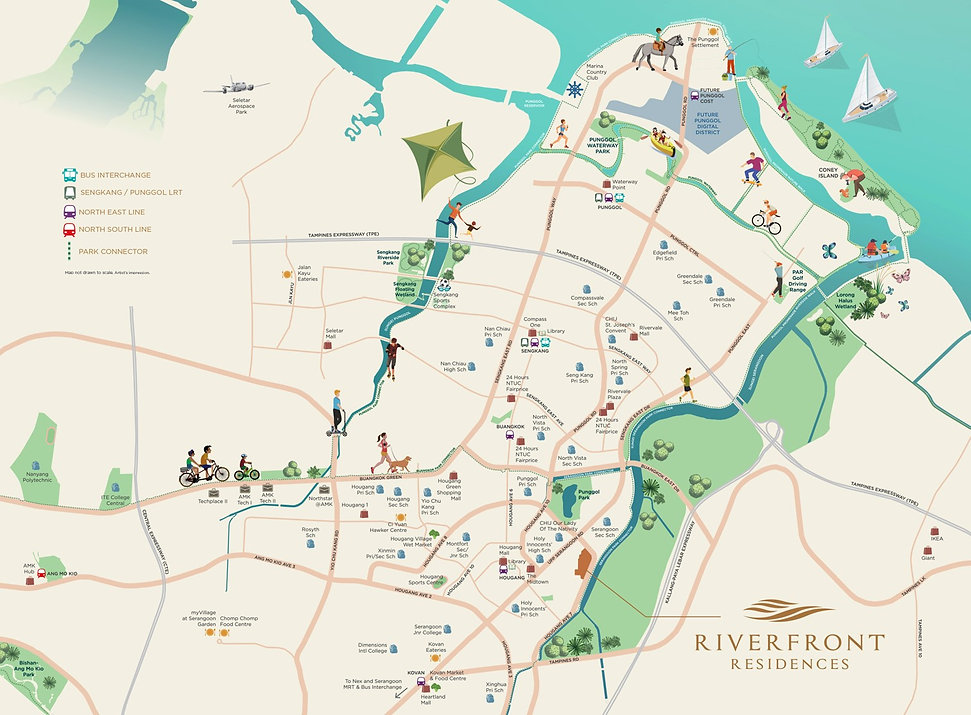 Riverfront Residence Location Map