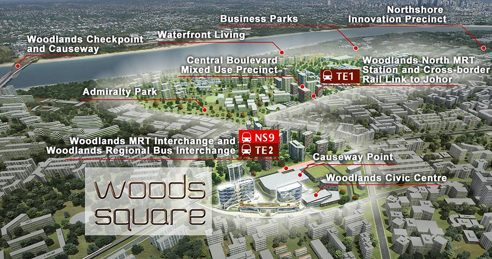 Woods Square Location Map