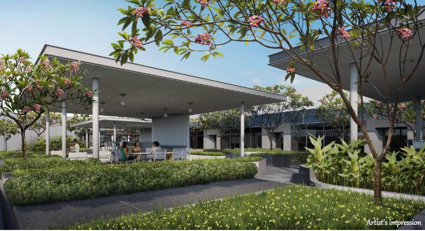 Rooftop Sky Garden - Meeting Pavilions