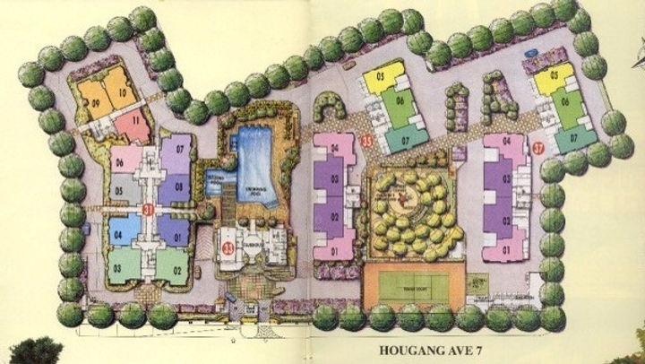 Evergreen Park Site Plan