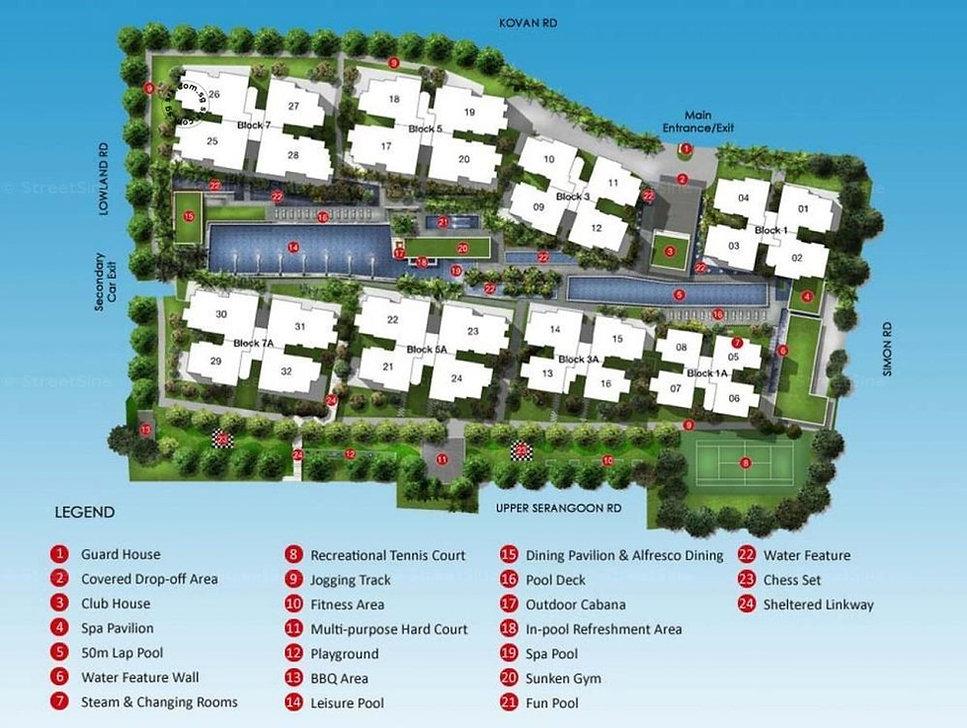 kovan Residences Site Plan