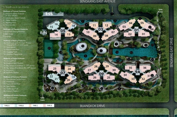 Riversound Residence Site Plan