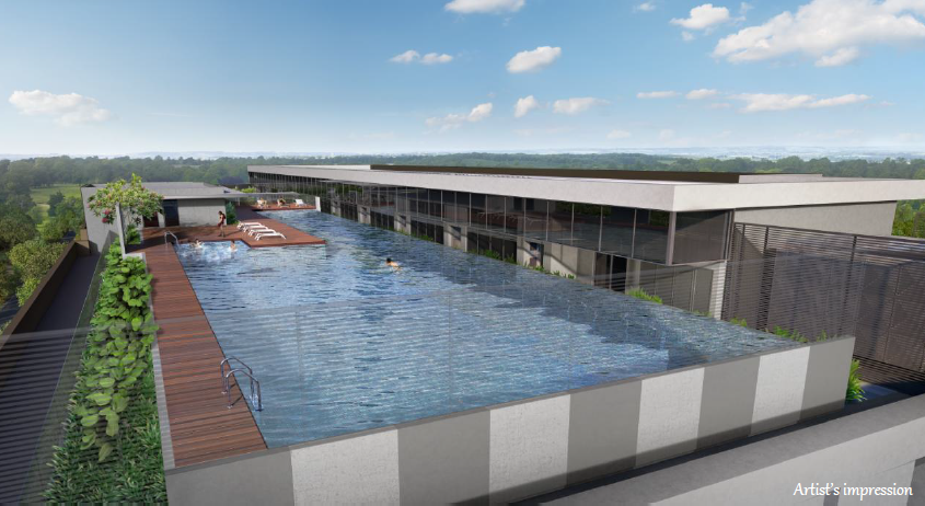 Rooftop Sky Garden - Swimming Pool
