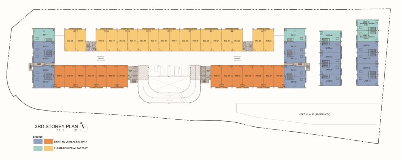 Nordcom II - 3rd Storey Plan