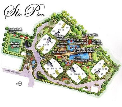 Goldenhill Park Condo Site Plan