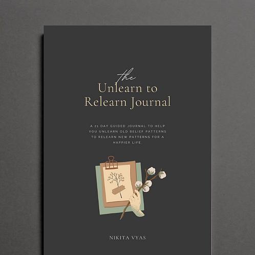 Unlearn to Relearn Journal (Digital)