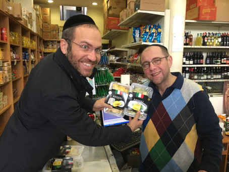 Gusto Buono Kosher Ravioli and Gnocchi now available in Eretz (Via Luigi Soderini, 27, Milano)