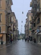 Una vista di Corso Cavour