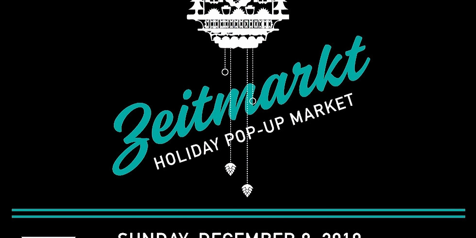 Zeitmarkt: A holiday pop-up market with Fleet Wood and friends